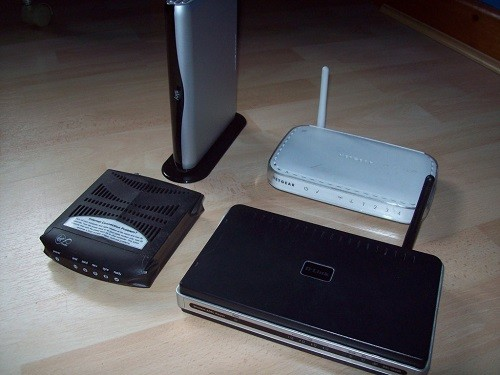 Four Different Wireless Routers