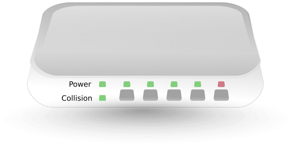 Wireless Access Point Front Side