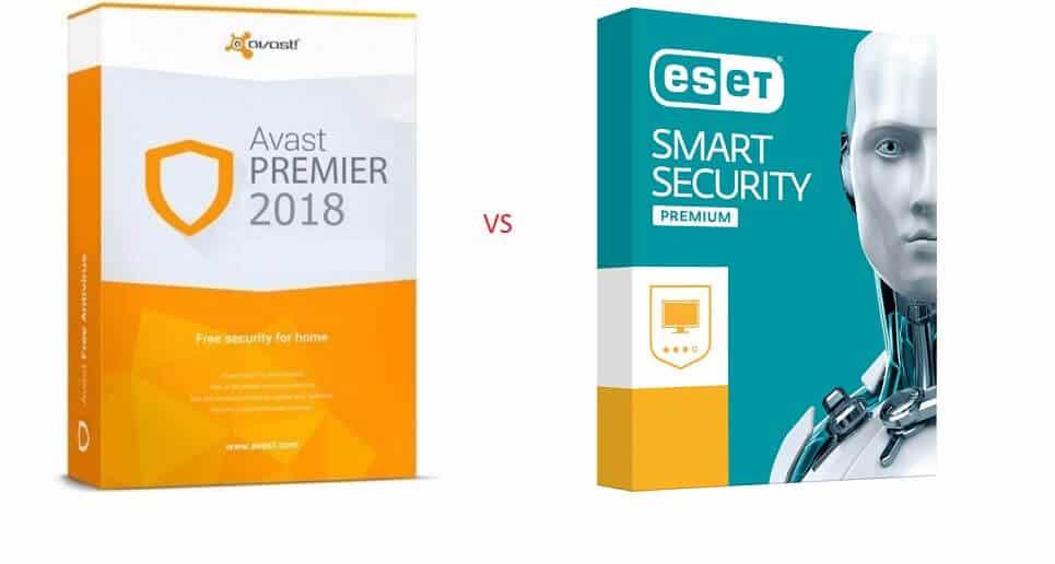 Eset vs Avast