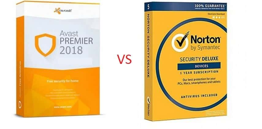 Avast vs Norton Antivirus