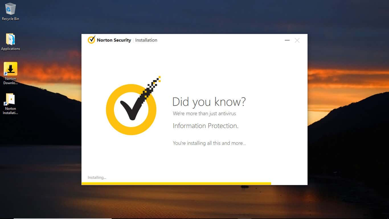 Norton Installation