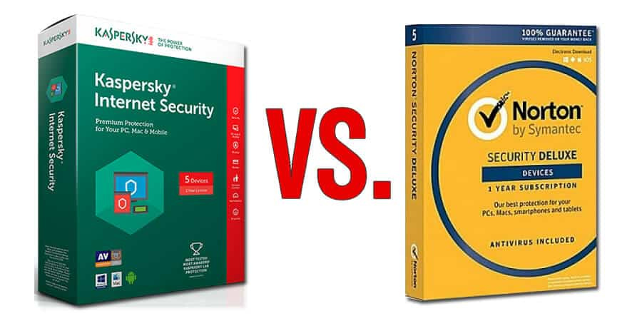 Kaspersky vs Norton Antivirus 2018
