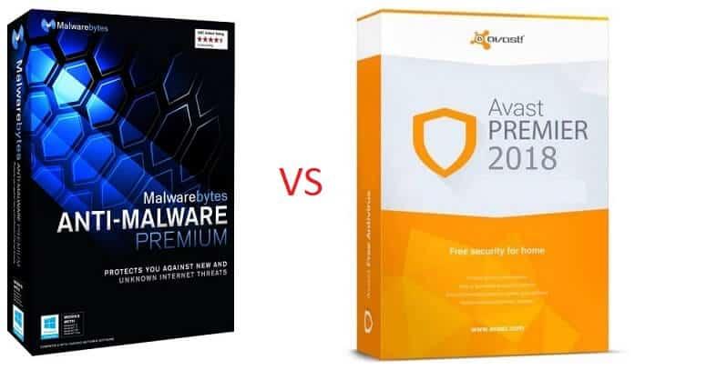 MalwareBytes vs Avast