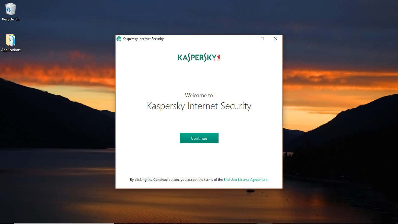 Welcome To Kaspersky Internet Security