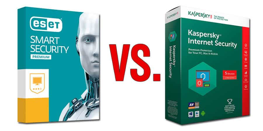 Eset vs Kaspersky 2018 Edition