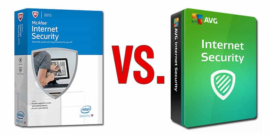 McAfee vs AVG Antivirus 2018