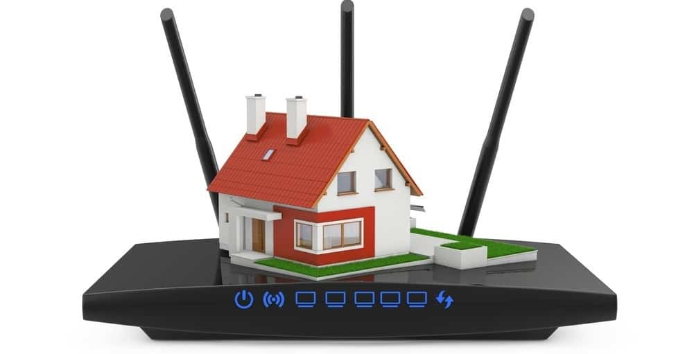Wireless Router 2 Story House Placement
