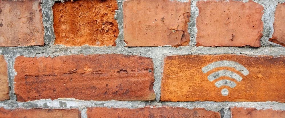 Brick Wall WiFi